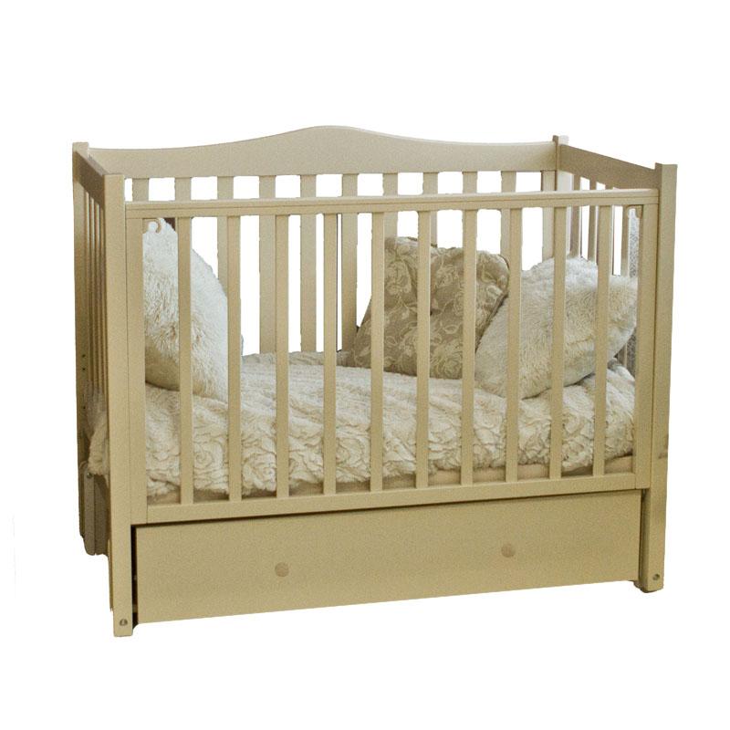 Купить Кровать детская Красная Звезда Лука С 561, слоновая кость, КРАСНАЯ ЗВЕЗДА
