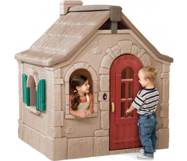 Step 2 Сказочный коттеджПластиковые домики для дачи<br>Step 2 Сказочный коттедж<br>
