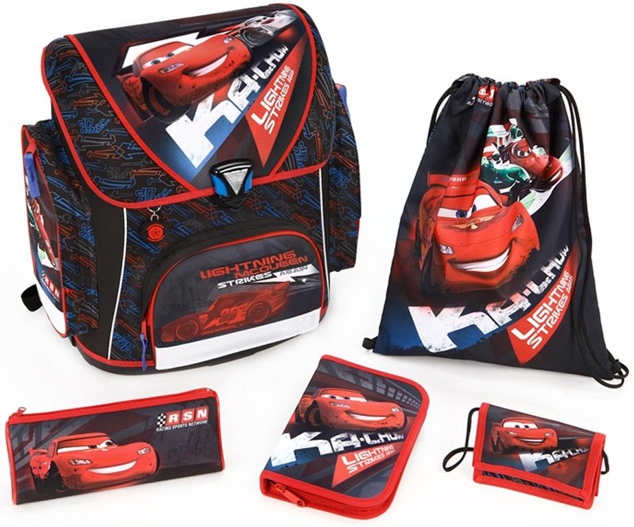 Scooli ранец с наполнением Тачки Cars - Школьные рюкзаки, артикул: 97917