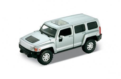 Коллекционная машинка Hummer H3, масштаб 1:34-39