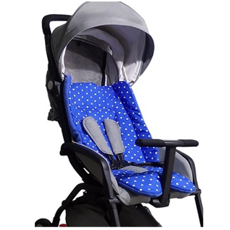 Чехол - вкладыш универсальный - Mini Color+, синий, двухсторонний,Аксессуары к коляскам<br>Чехол - вкладыш универсальный - Mini Color+, синий, двухсторонний,<br>