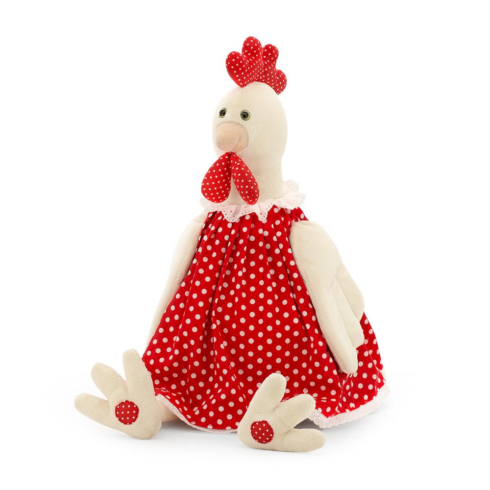 Мягкая игрушка - Курочка Даша, 18 смЖивотные<br>Мягкая игрушка - Курочка Даша, 18 см<br>
