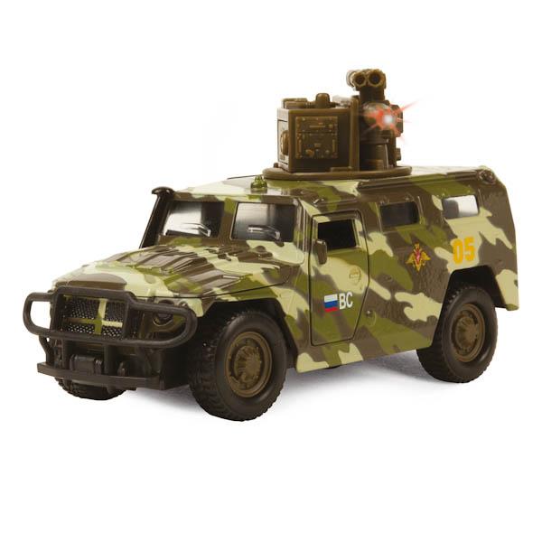Купить Машина ГАЗ Тигр - Вооружённые силы, свет, звук, Технопарк