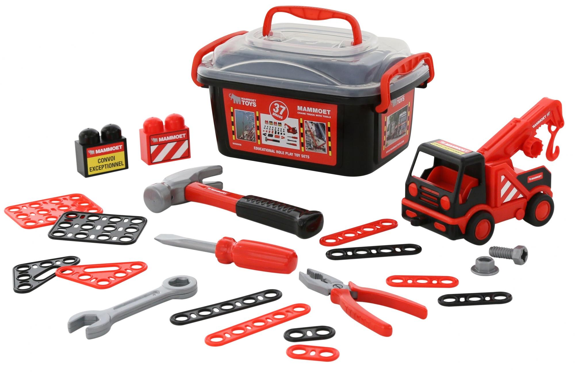 Автомобиль-эвакуатор и конструкторский набор MammoetБетономешалки, строительная техника<br>Автомобиль-эвакуатор и конструкторский набор Mammoet<br>