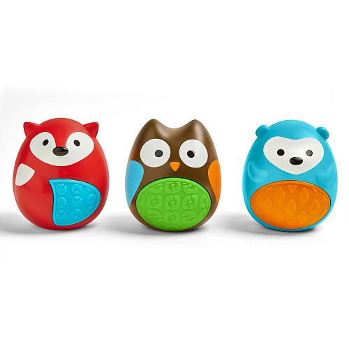 Развивающий набор – Трио из погремушекДетские погремушки и подвесные игрушки на кроватку<br>Развивающий набор – Трио из погремушек<br>