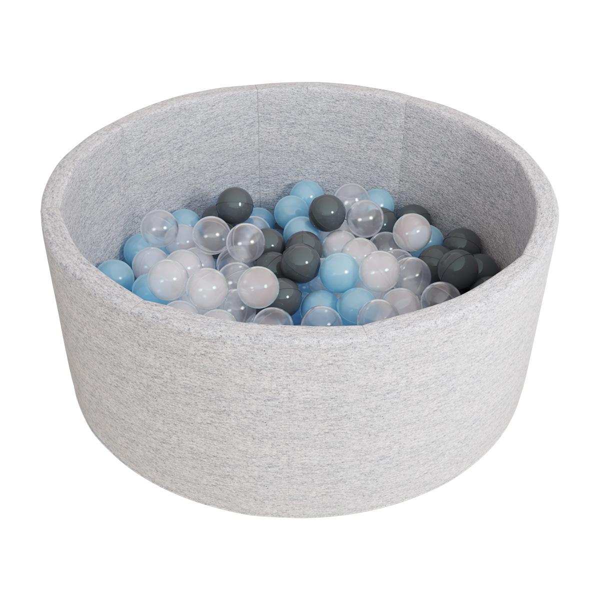 Купить Сухой бассейн Romana – Airpool, ДМФ-МК-02.53.01, серый с серыми шариками
