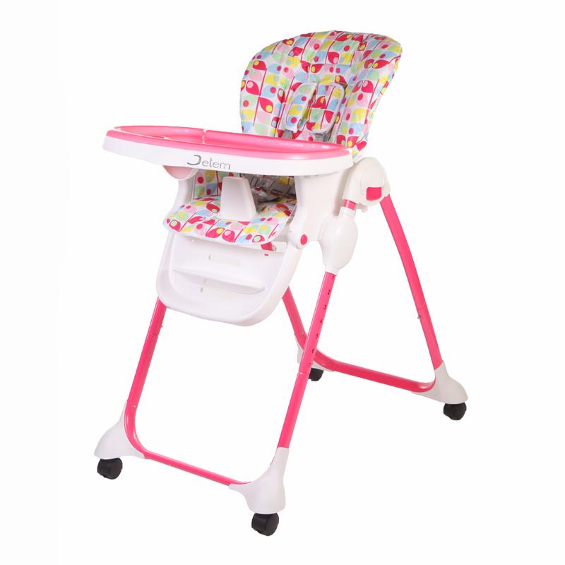 Детский стульчик для кормления Jetem – Bon Appetit, розовыйСтульчики для кормления<br>Детский стульчик для кормления Jetem – Bon Appetit, розовый<br>