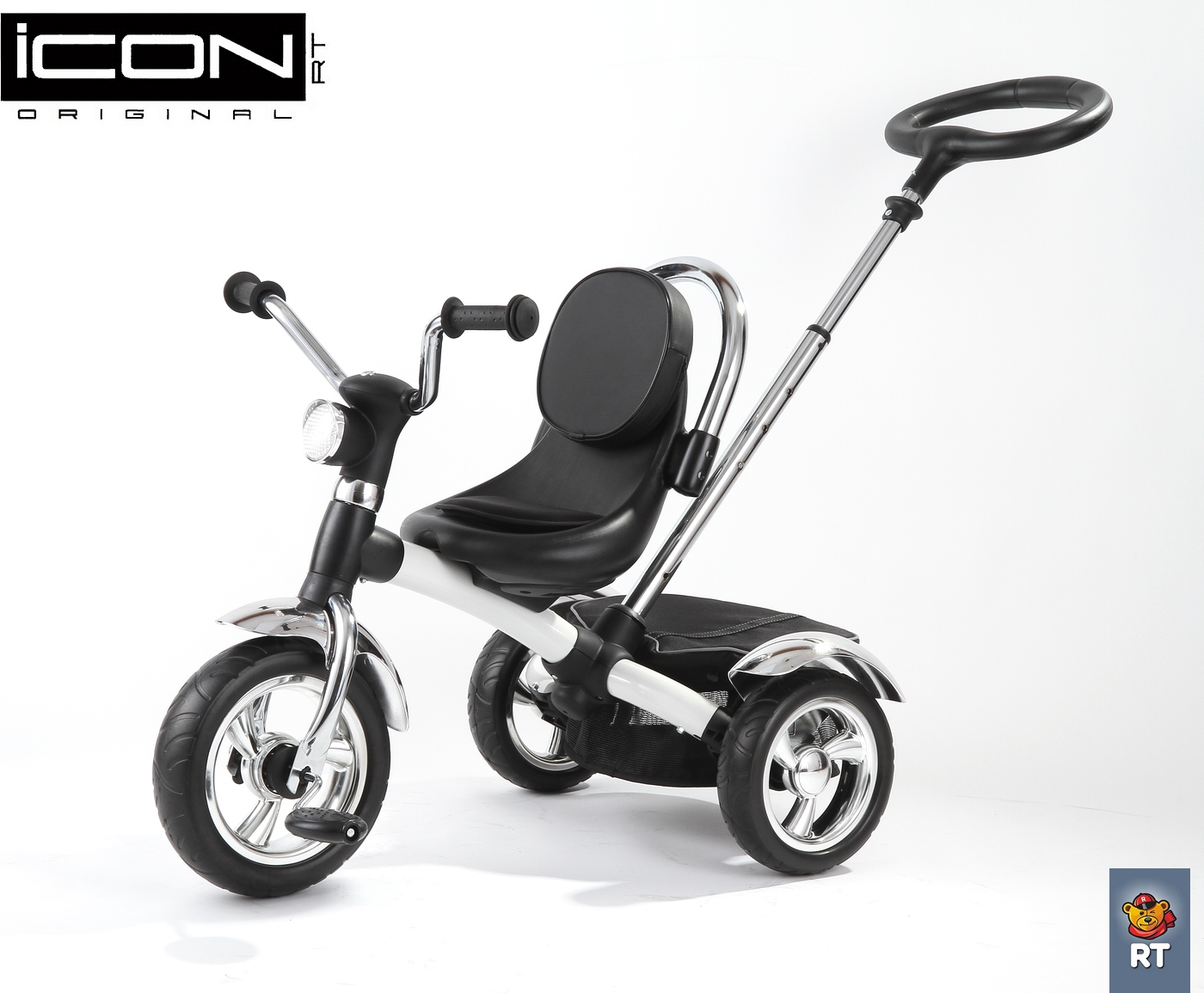 Велосипед 3-колесный Icon 4 RT original black mat car