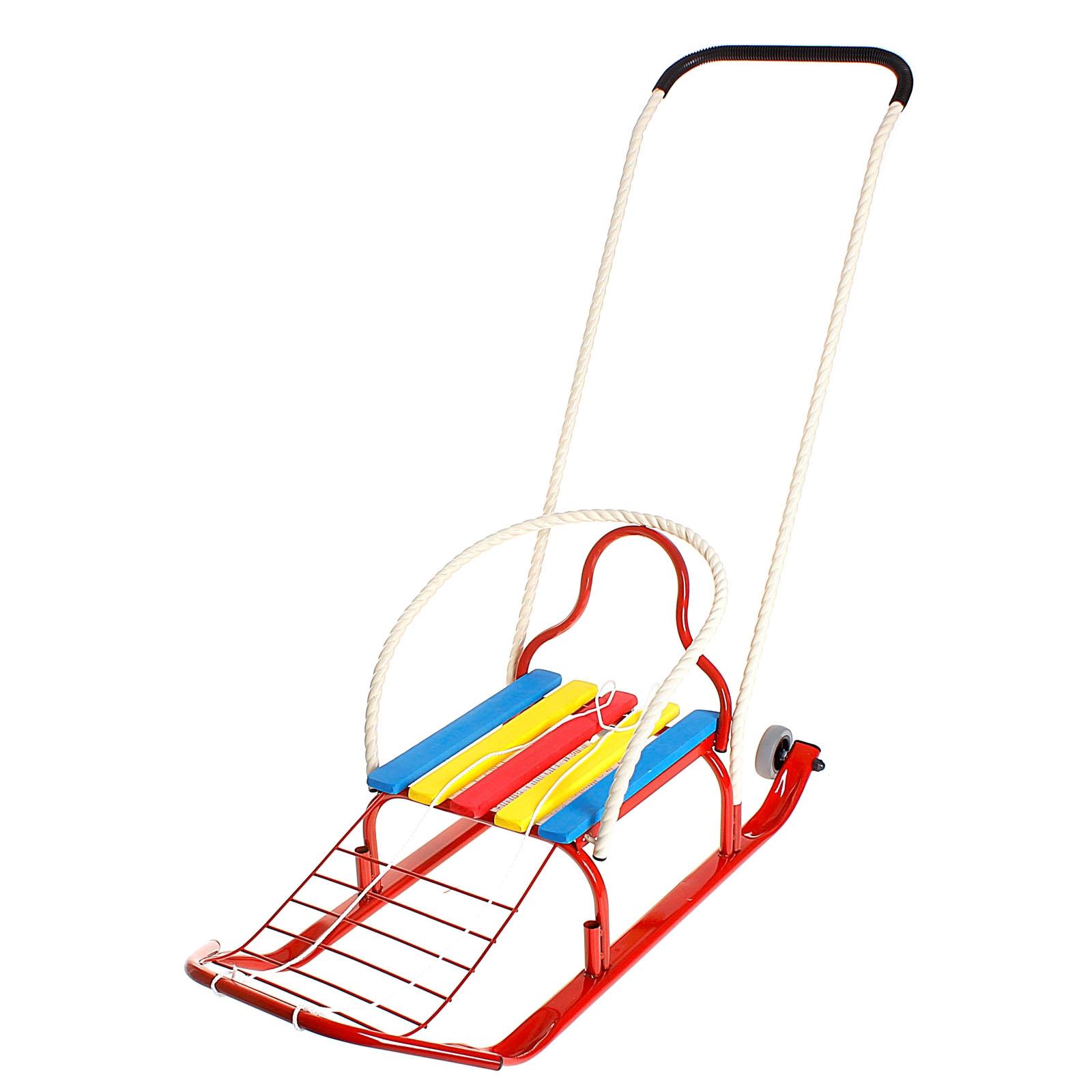 Санки - Кирюша-4К, красныеСанки и сани-коляски<br>Санки - Кирюша-4К, красные<br>