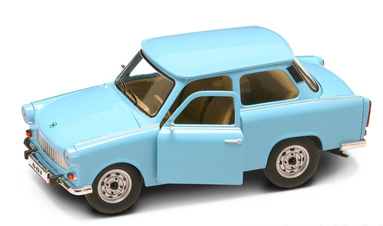 Коллекционный автомобиль - Трабант 601 образца 1963 года, масштаб 1:24Винтажные модели<br>Коллекционный автомобиль - Трабант 601 образца 1963 года, масштаб 1:24<br>