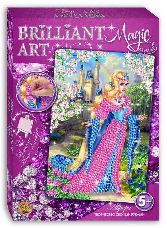 Мозаика со стразами Magic Crystal Аврора по цене 301