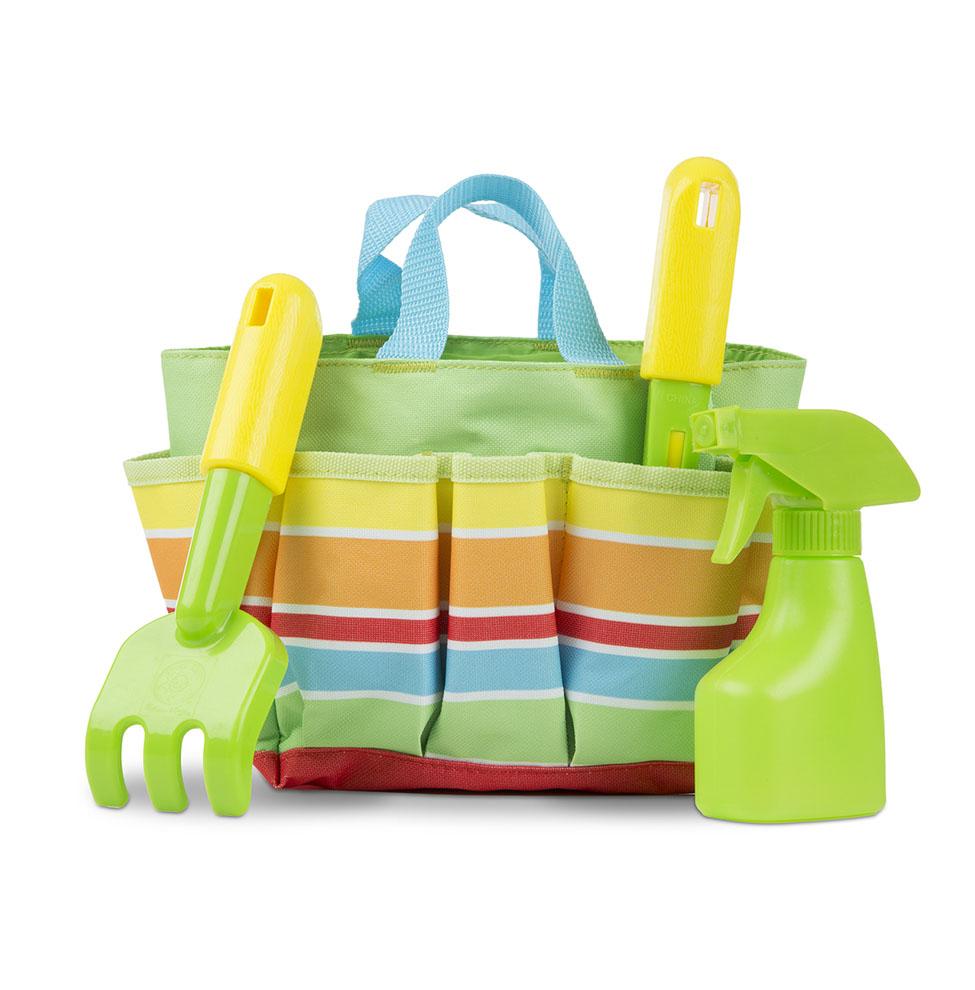 Купить Набор для садоводства в сумочке Sunny Patch, зеленый, Melissa&Doug