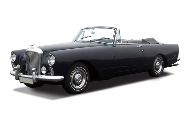 Коллекционный автомобиль 1954 года - Бентли S2 Continental DHC 1961, масштаб 1/43, серия Премиум от Toyway