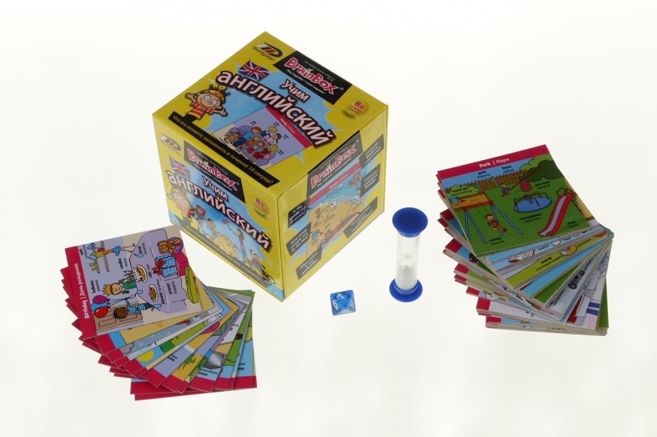Настольная игра Сундучок знаний - Учим английскийРазвивающие<br>Настольная игра Сундучок знаний - Учим английский<br>