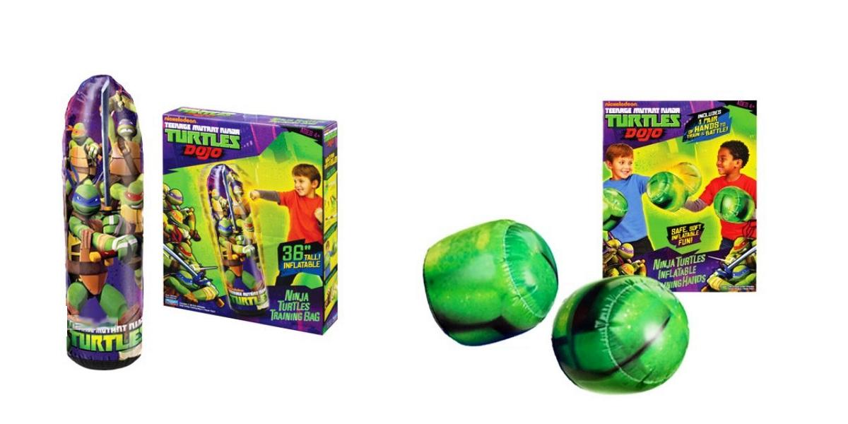 Надувные спортивные игрушки из серии Черепашки-ниндзя DoJo, 2 вида Playmates