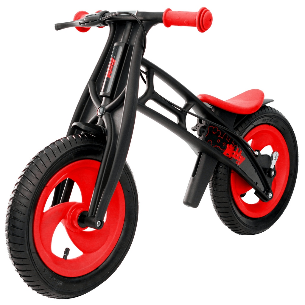 Hobby-bike RT original Велобалансир+беговел, red/black, шины елочка
