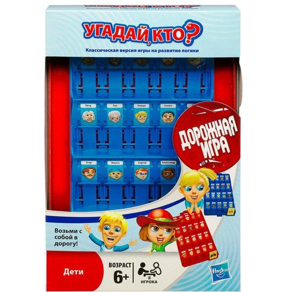 Купить Игра «Угадай кто?», дорожная игра, Hasbro