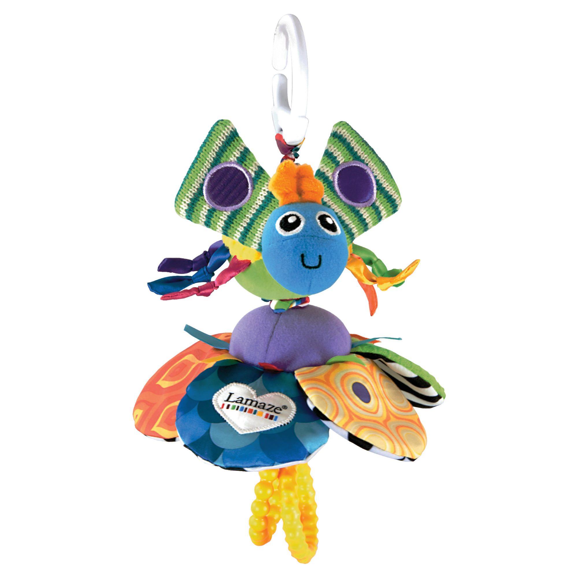 Подвесная игрушка – Жучок на цветочкеРазвивающая дуга. Игрушки на коляску и кроватку<br>Подвесная игрушка – Жучок на цветочке<br>