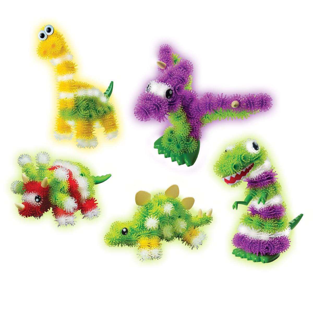 Тематический набор Bunchems  - ДинозаврыКонструктор-липучка Банчемс<br>Тематический набор Bunchems  - Динозавры<br>