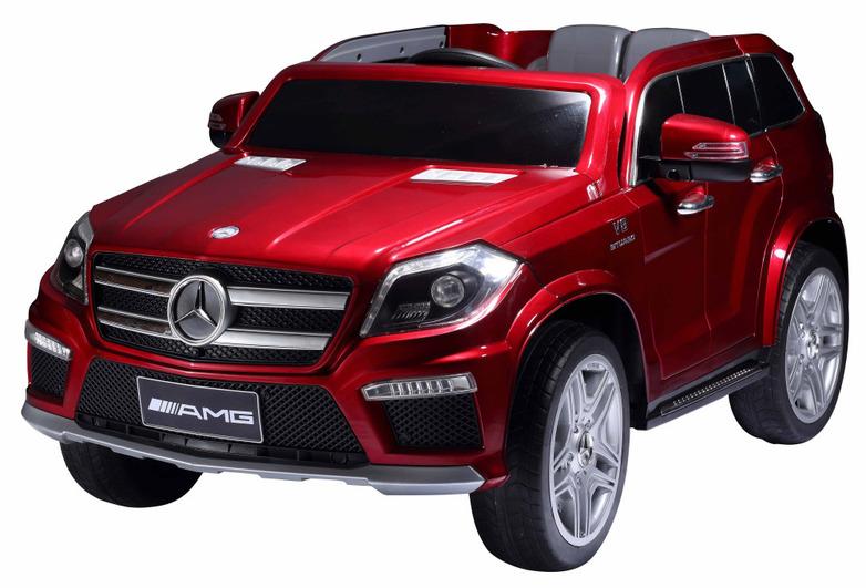Электромобиль Mercedes-Benz GL63 красныйЭлектромобили, детские машины на аккумуляторе<br>Электромобиль Mercedes-Benz GL63 красный<br>