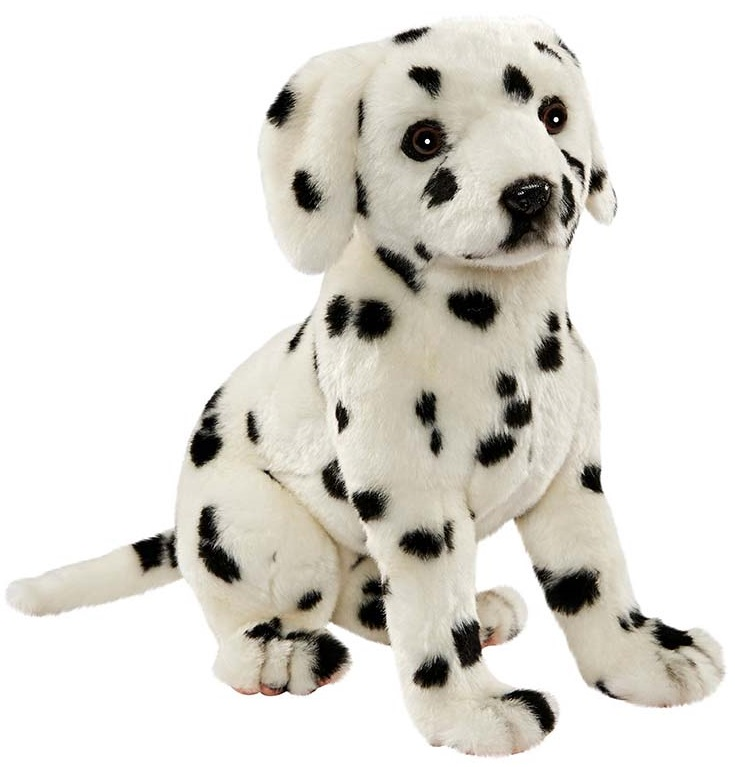 Мягкая игрушка – Далматинец сидящий, 30 смСобаки<br>Мягкая игрушка – Далматинец сидящий, 30 см<br>