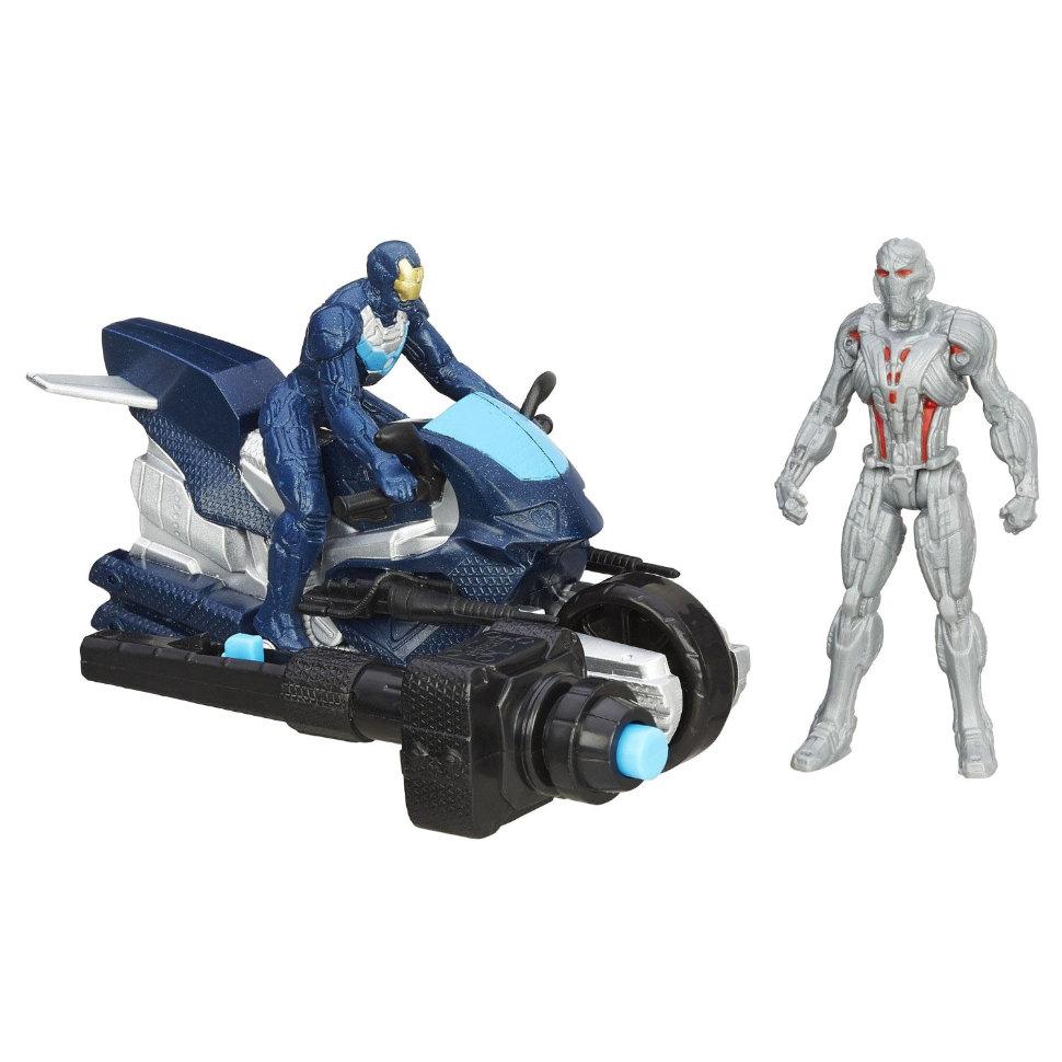 Набор мини-фигурок Мстителей: Делюкс  Альтрон и Железный человек - Герои MARVEL, артикул: 153904