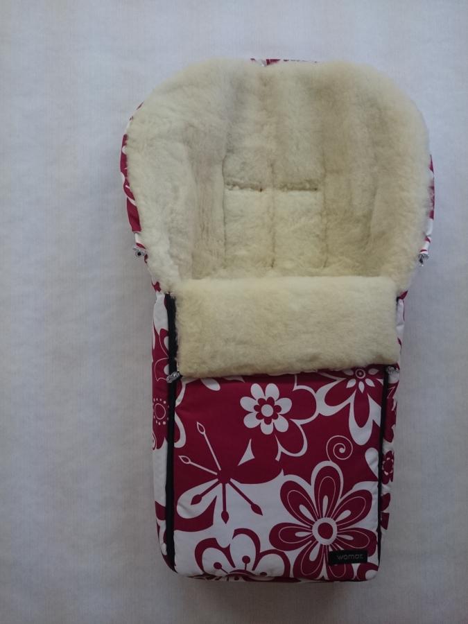 Спальный мешок в коляску №06 Aurora, цвет – 13 цветки