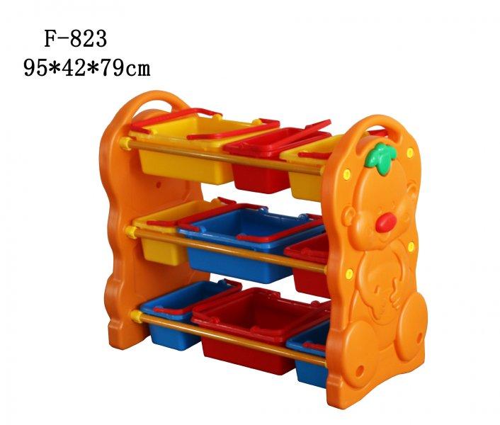 Этажерка для игрушек F-823