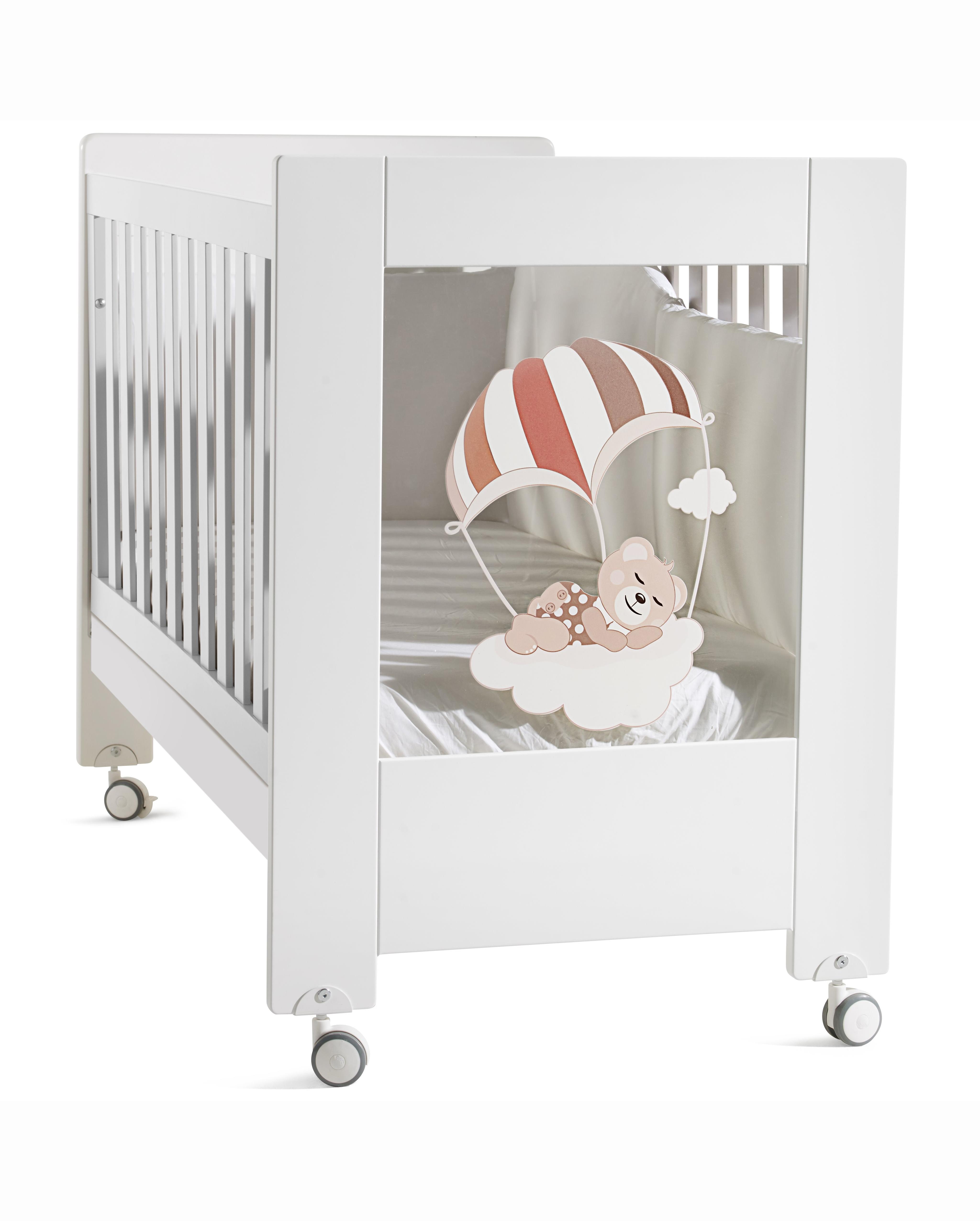 Кроватка детская - Fabienne et MathieuДетские кровати и мягкая мебель<br>Кроватка детская - Fabienne et Mathieu<br>