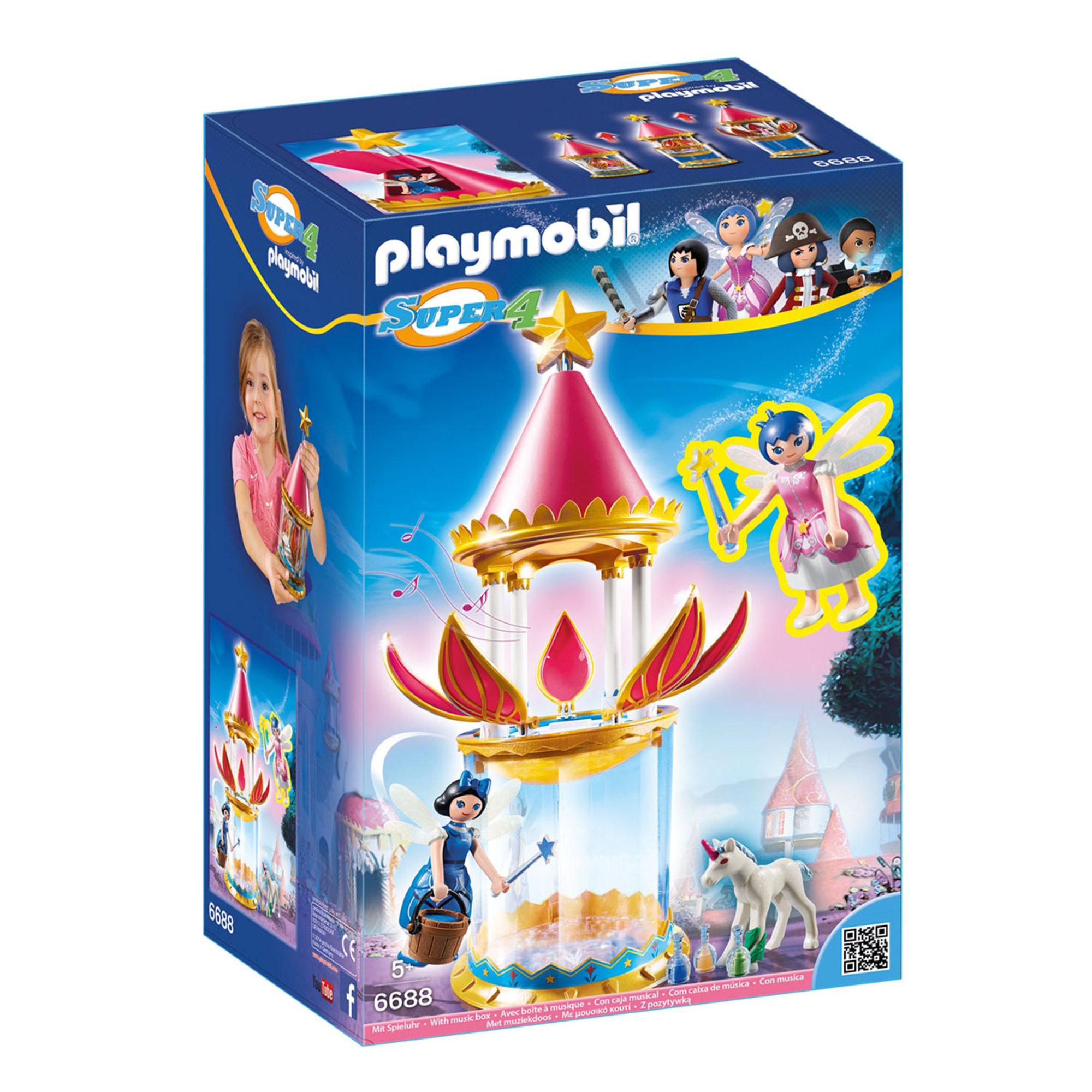 Игровой набор из серии Супер 4 - Цветочная Башня с ТвинклSuper 4<br>Игровой набор из серии Супер 4 - Цветочная Башня с Твинкл<br>