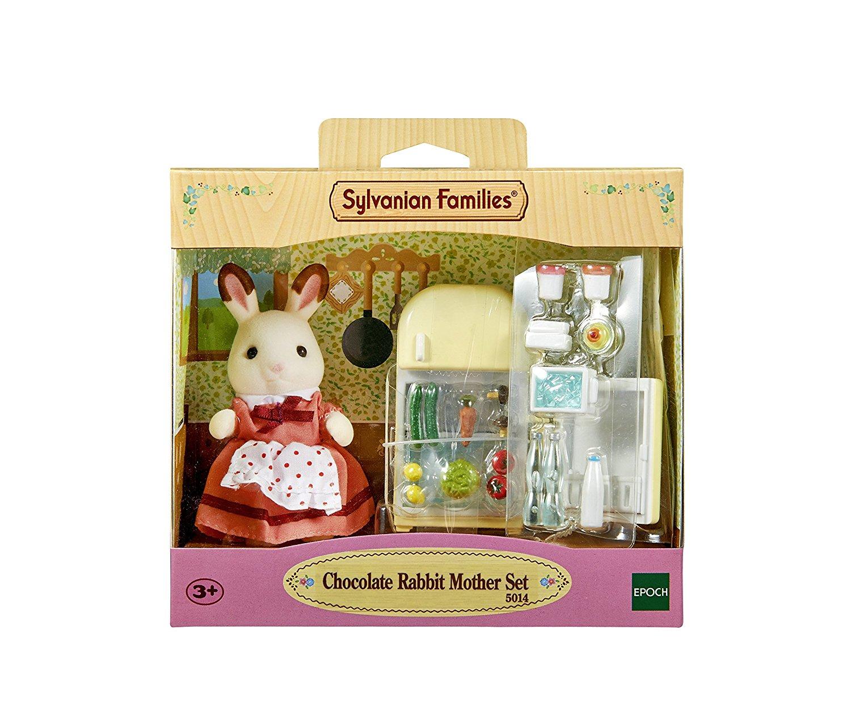 Sylvanian Families Мама кролик и холодильник от