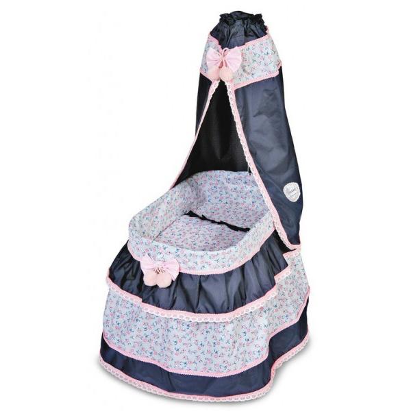 Кроватка с балдахином Романтик, 60 см. - Детские кроватки для кукол, артикул: 142956