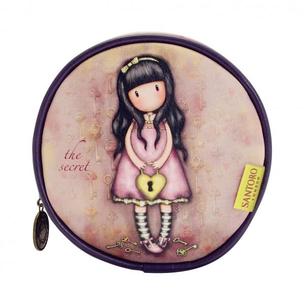 Круглая сумка для аксессуаров - The SecretДетские сумочки<br>Круглая сумка для аксессуаров - The Secret<br>