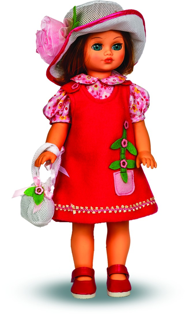 Озвученна кукла Лиза 12, 42 смРусские куклы фабрики Весна<br>Озвученна кукла Лиза 12, 42 см<br>