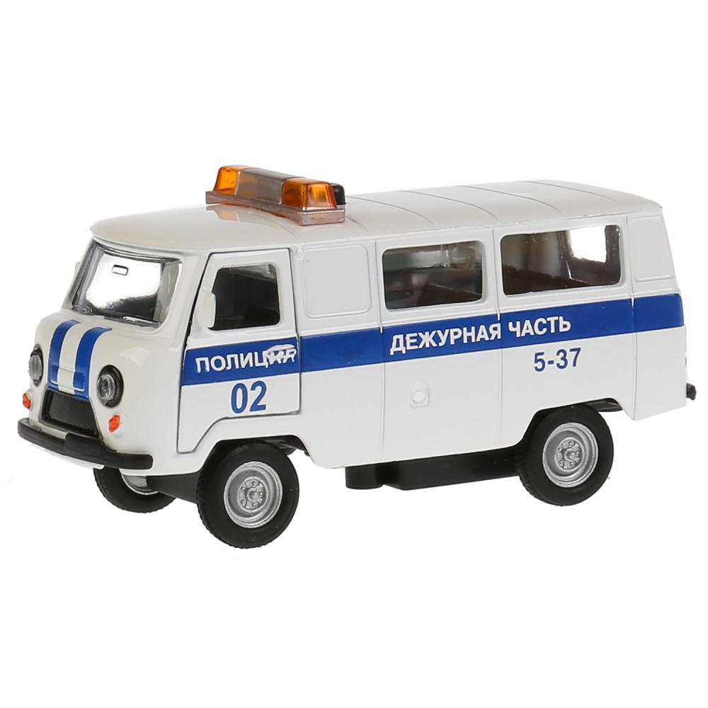 Купить Инерционная машина УАЗ-452 - Дежурная часть, свет, звук, Технопарк