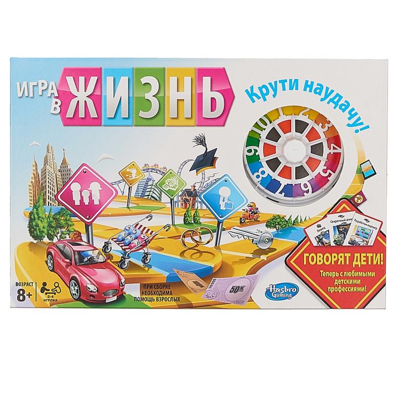 Games «Игра в жизнь», 8+ - Логические, артикул: 134997