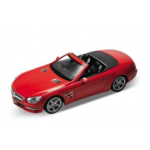 Игрушечная металлическая машина Mercedes-Benz SL500, масштаб 1:24Mercedes<br>Игрушечная металлическая машина Mercedes-Benz SL500, масштаб 1:24<br>