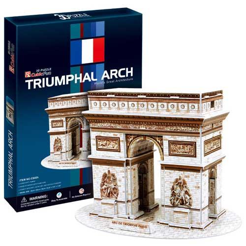 Трёхмерные пазлы Париж – Триумфальная аркаПазлы объёмные 3D<br>Трёхмерные пазлы Париж – Триумфальная арка<br>