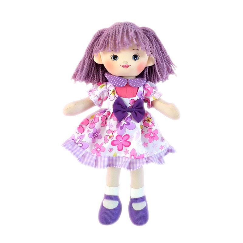 Мягкая кукла Ягодка, 30 см. - Мягкие куклы, артикул: 159928