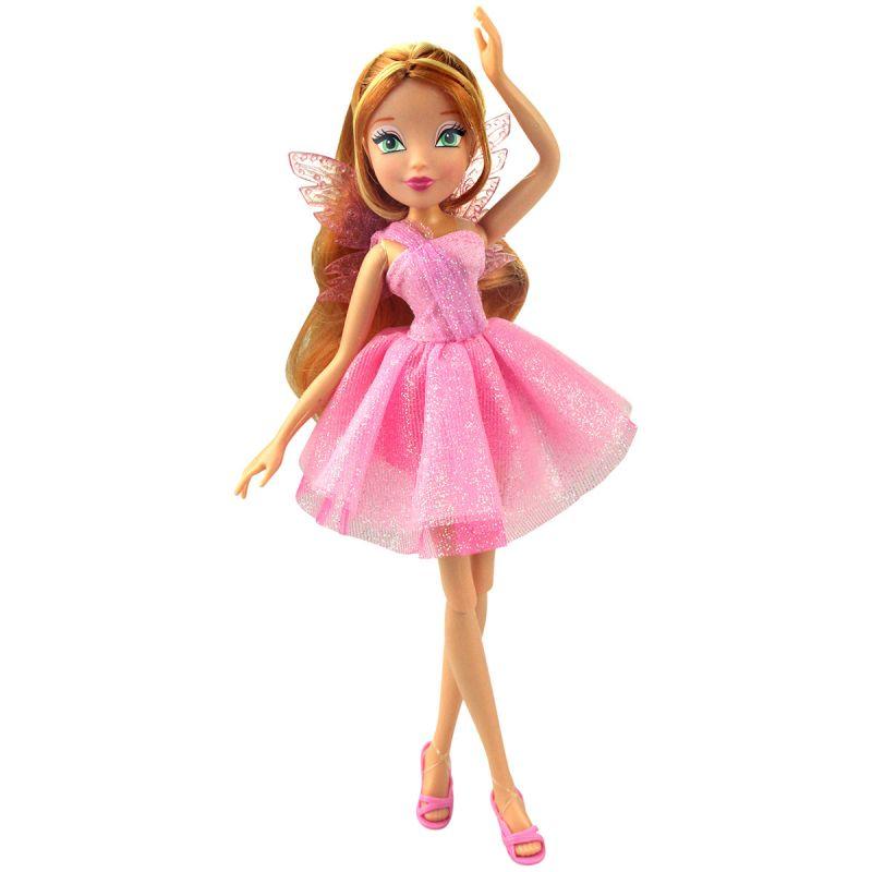 Кукла Флора из серии Winx Club Мода и магия-4Куклы Винкс (Winx)<br>Кукла Флора из серии Winx Club Мода и магия-4<br>