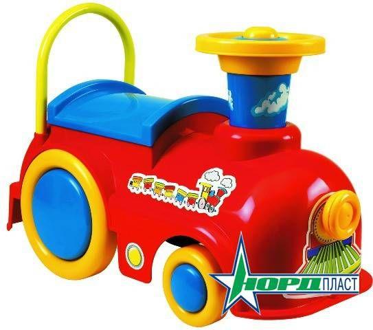 Машинка-толокар - Экспресс УлыбкаМашинки-каталки для детей<br>Машинка-толокар - Экспресс Улыбка<br>