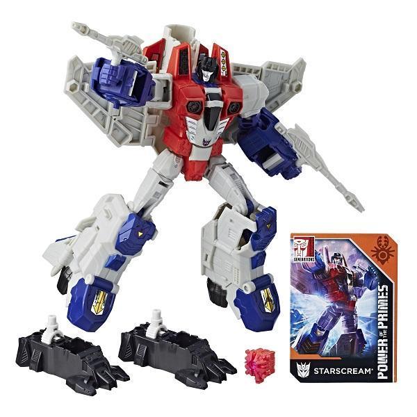 Трансформер-самолет Starscream из серии Generations. Power of the Primes.