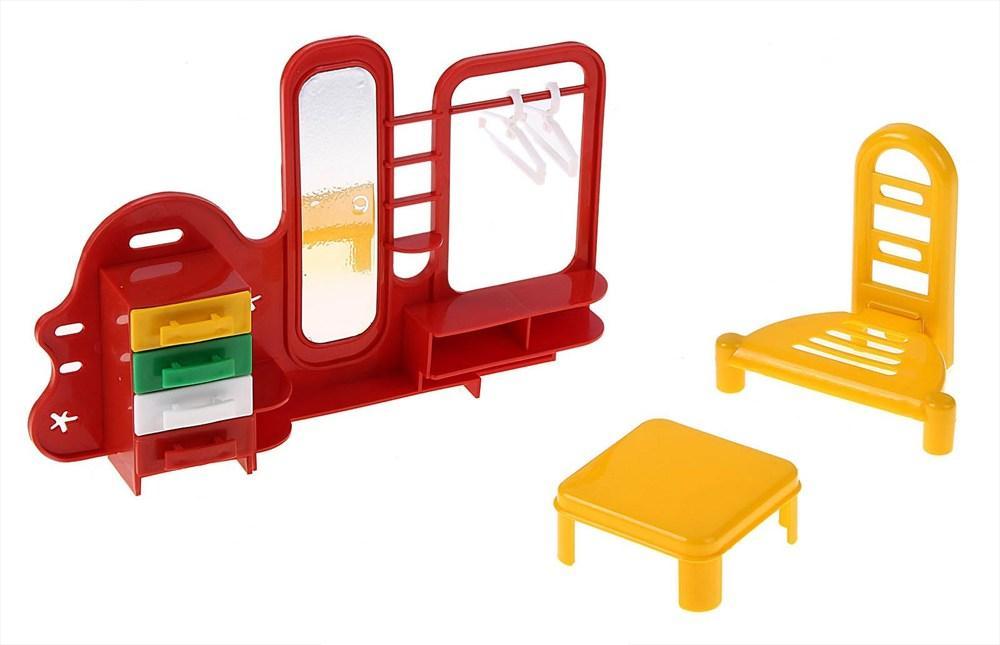 Игровой набор мебели - ПрихожаяКукольные домики<br>Игровой набор мебели - Прихожая<br>