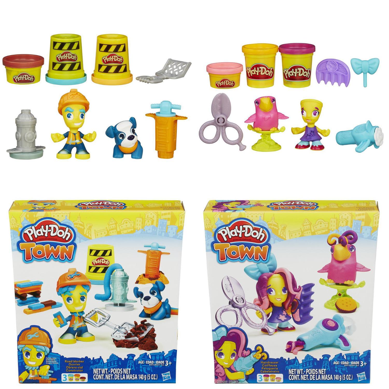 Play-Doh. Игровой набор Житель и питомец» из серии ГородПластилин Play-Doh<br>Play-Doh. Игровой набор Житель и питомец» из серии Город<br>