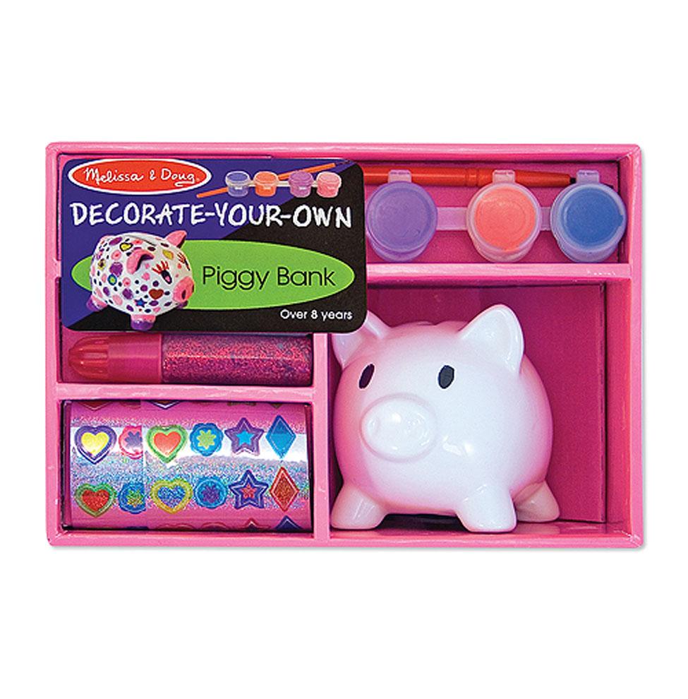 Набор - Создай свою собственную копилку-свинкуНаборы для рисования<br>Набор - Создай свою собственную копилку-свинку<br>