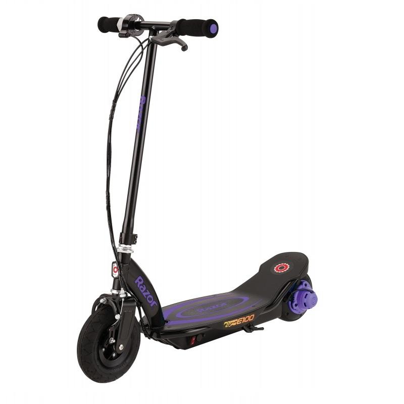 Купить Электросамокат Razor Power Core E100, фиолетовый, 011609