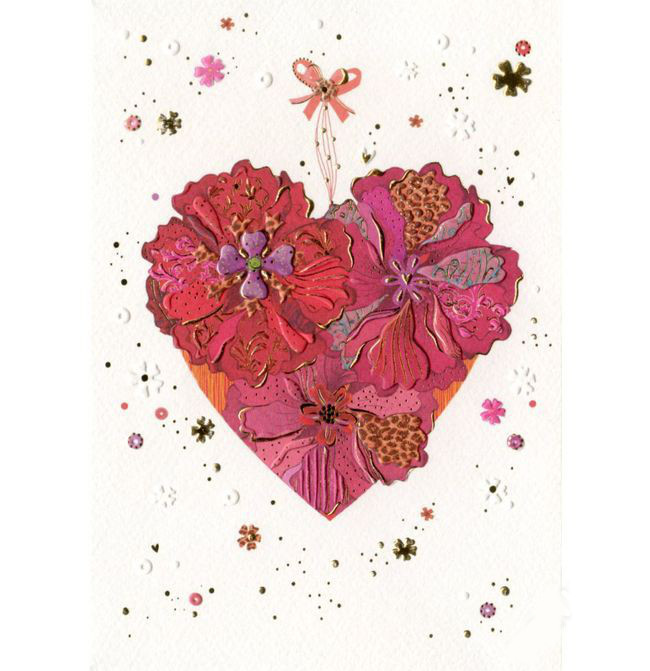 Купить Открытка – Сердце, с конвертом, Turnowsky