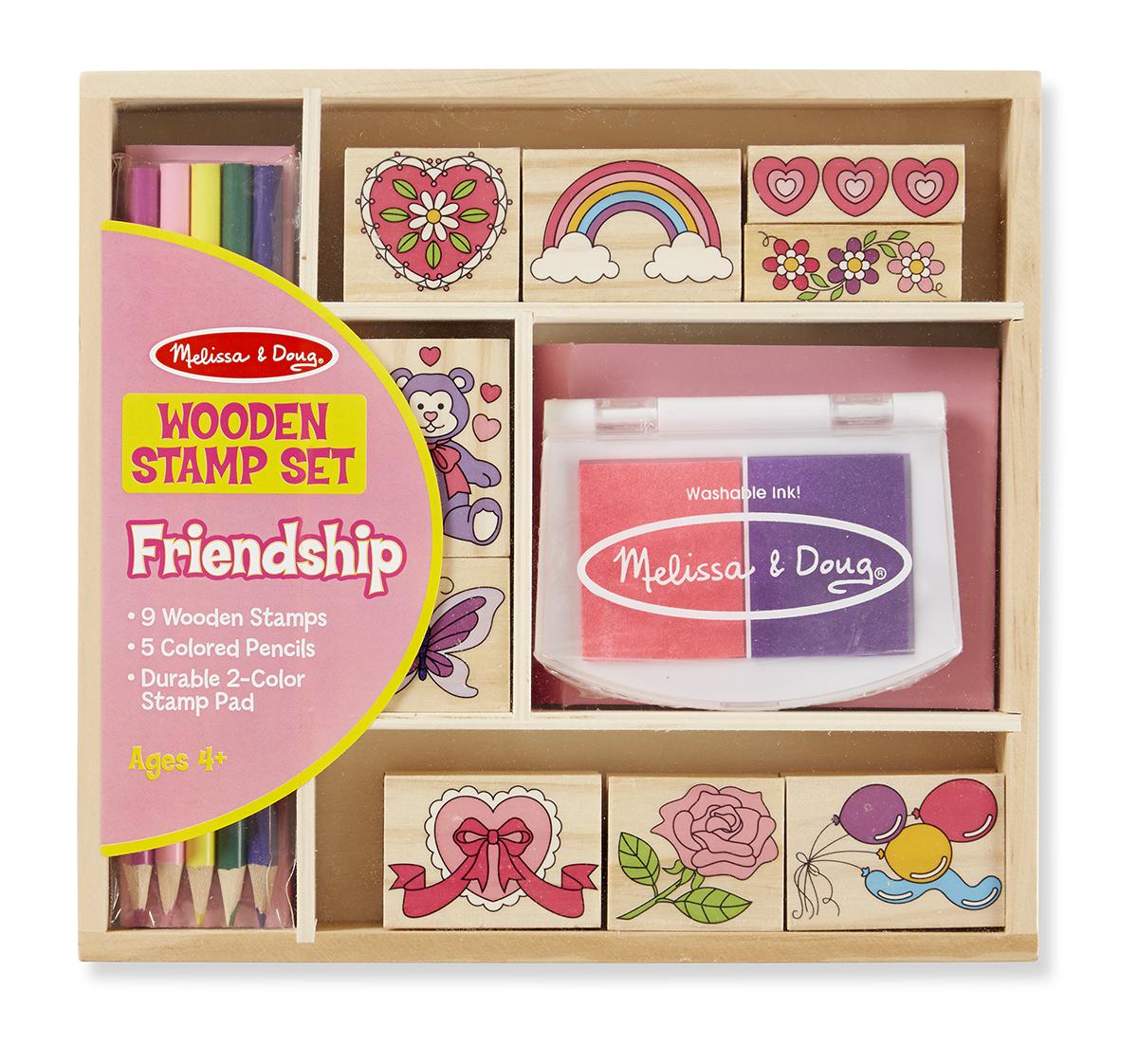 Набор печатей  Дружба  из серии  Творчество  - Рисование, артикул: 138950