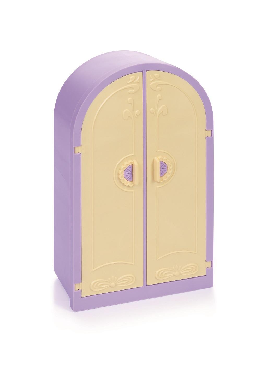 Купить Шкаф из серии Маленькая принцесса без ящика, светло-сиреневый, Огонек
