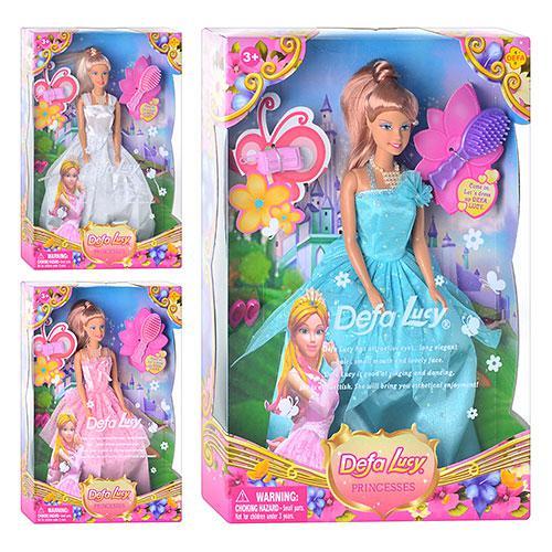 Кукла Defa - Принцесса-цветок с аксессуарами, 29 смКуклы Defa Lucy<br>Кукла Defa - Принцесса-цветок с аксессуарами, 29 см<br>